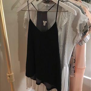 Reversible Black and Grey Cami